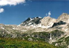 Schesaplana 2965 m War ich auch schon am Gipfelkreuz
